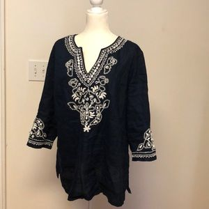 Beautiful linen tunic